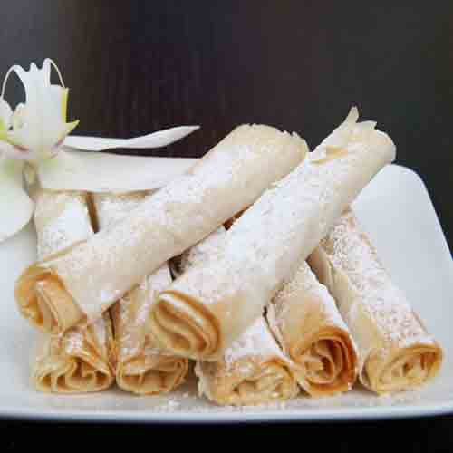 Almond Cigars by Bourekas, Etc