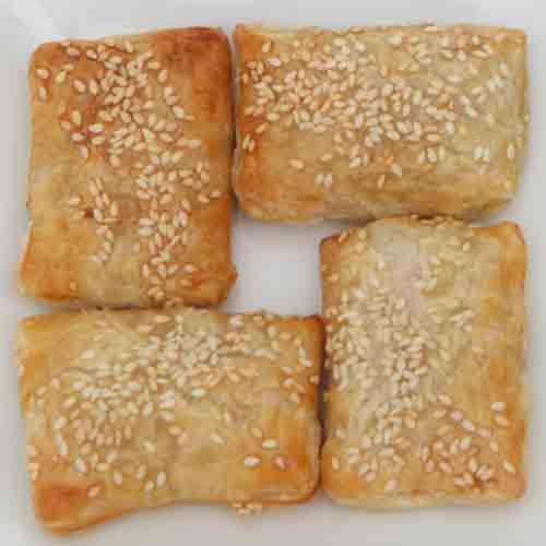 Potato Cheese Bourekas Recipe — Dishmaps
