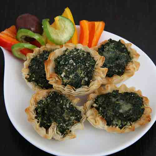 Spinach Fillo Shell by Bourekas, Etc