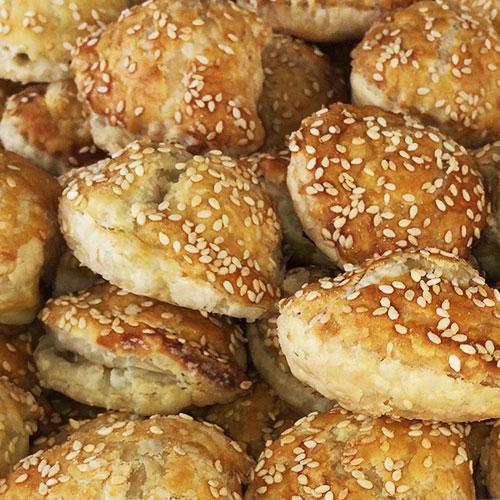 Mushroom Bourekas by Bourekas, Etc